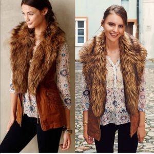 NWOT Hei Hei Faux Fur Vest